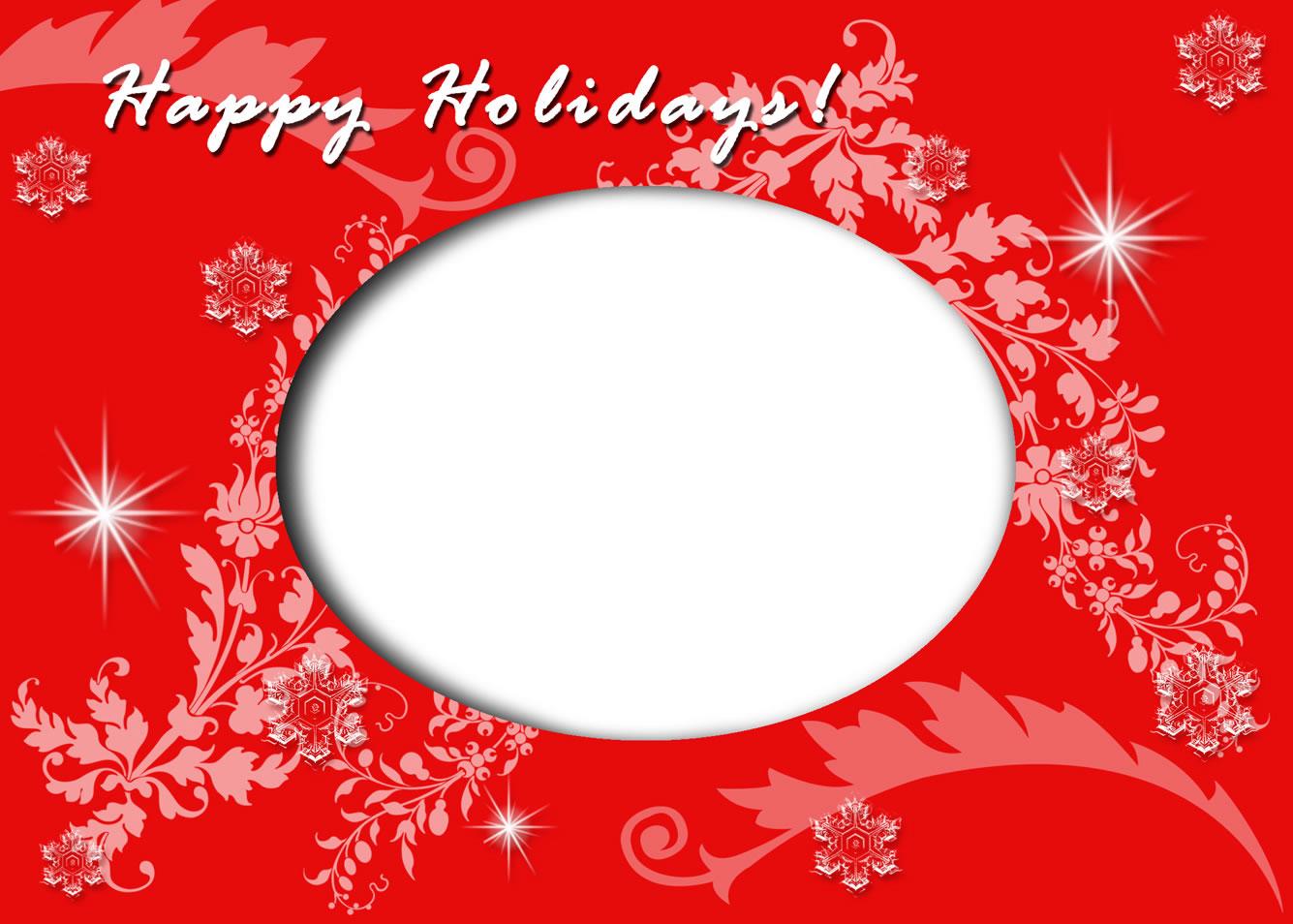 Holiday card template solarfm m4hsunfo