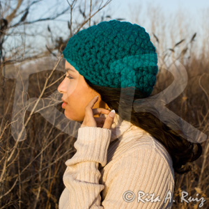 Crochet Patterns Using Chunky Yarn : ChunkyTeal_001
